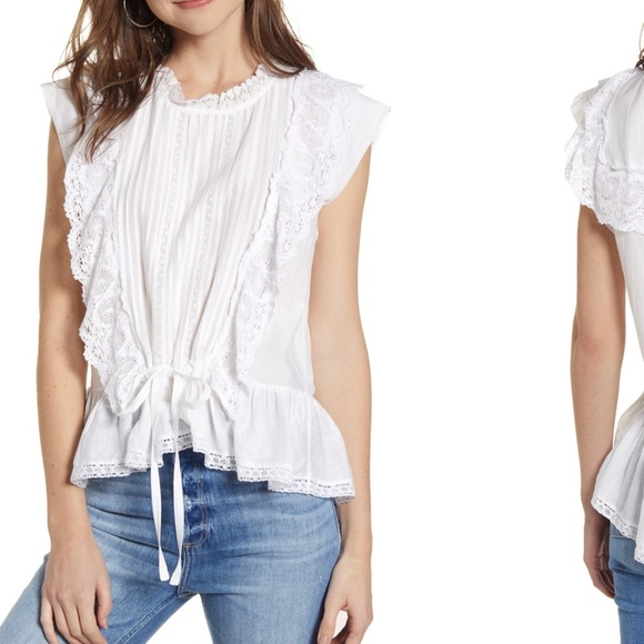 Zadig & Voltaire Tops - Zadig & Voltaire Toundra Lace Top. Size XS. NWT.